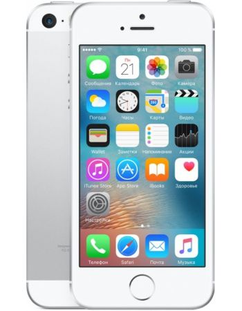 Apple iPhone SE 16 ГБ Серебряный
