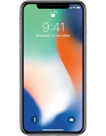 iPhone X 256 ГБ Серебристый