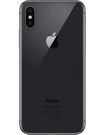 iPhone X 64 ГБ Серый космос задняя крышка