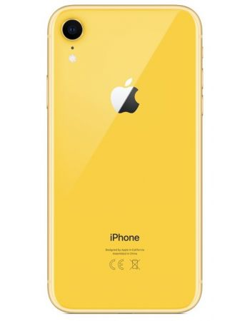 iPhone XR 256 ГБ желтый задняя крышка