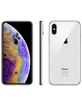 iPhone XS 256 ГБ серебристый задняя крышка ободок и дисплей