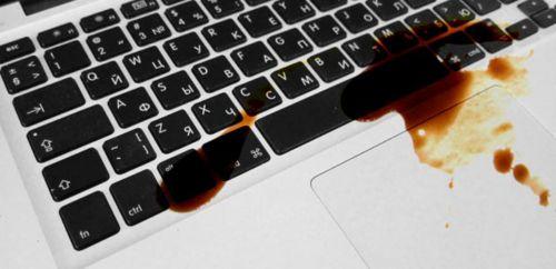 Как быть, если вы залили MacBook?