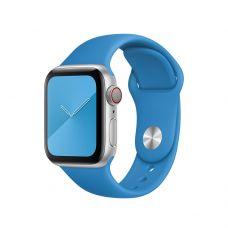 Спортивный ремешок для Apple Watch 42/44 мм, «Синяя волна»