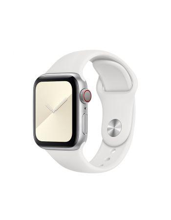 Спортивный ремешок для Apple Watch 42/44 мм (Белый)