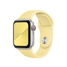 Спортивный ремешок для Apple Watch 42/44 мм, «Лимонный мусс»